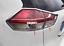 thumbnail 7 - 4PCS ABS Chrome Rear Tail Light Lamp Cover Trim For Nissan Rogue 2014 2015 2016