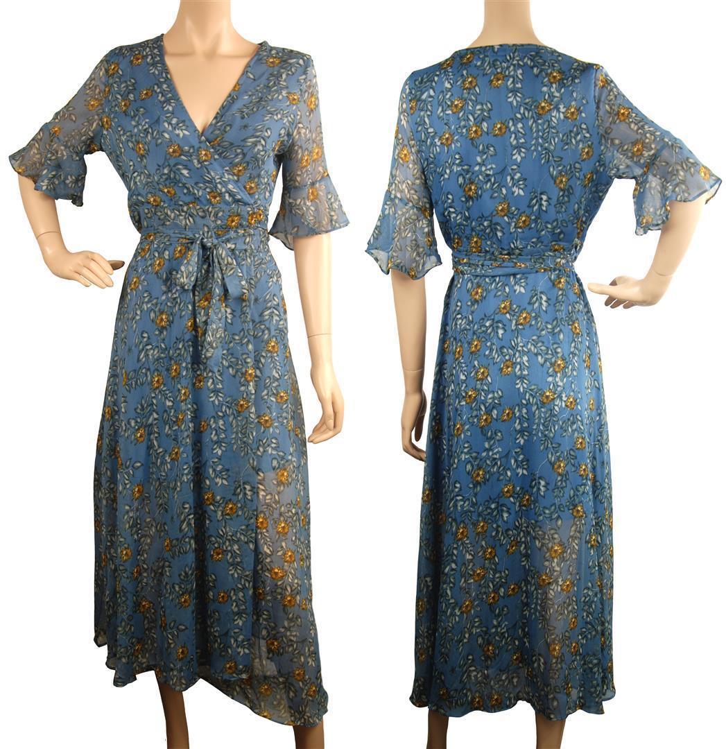 Beautiful ConMiGo A01810 long maxi flora dress