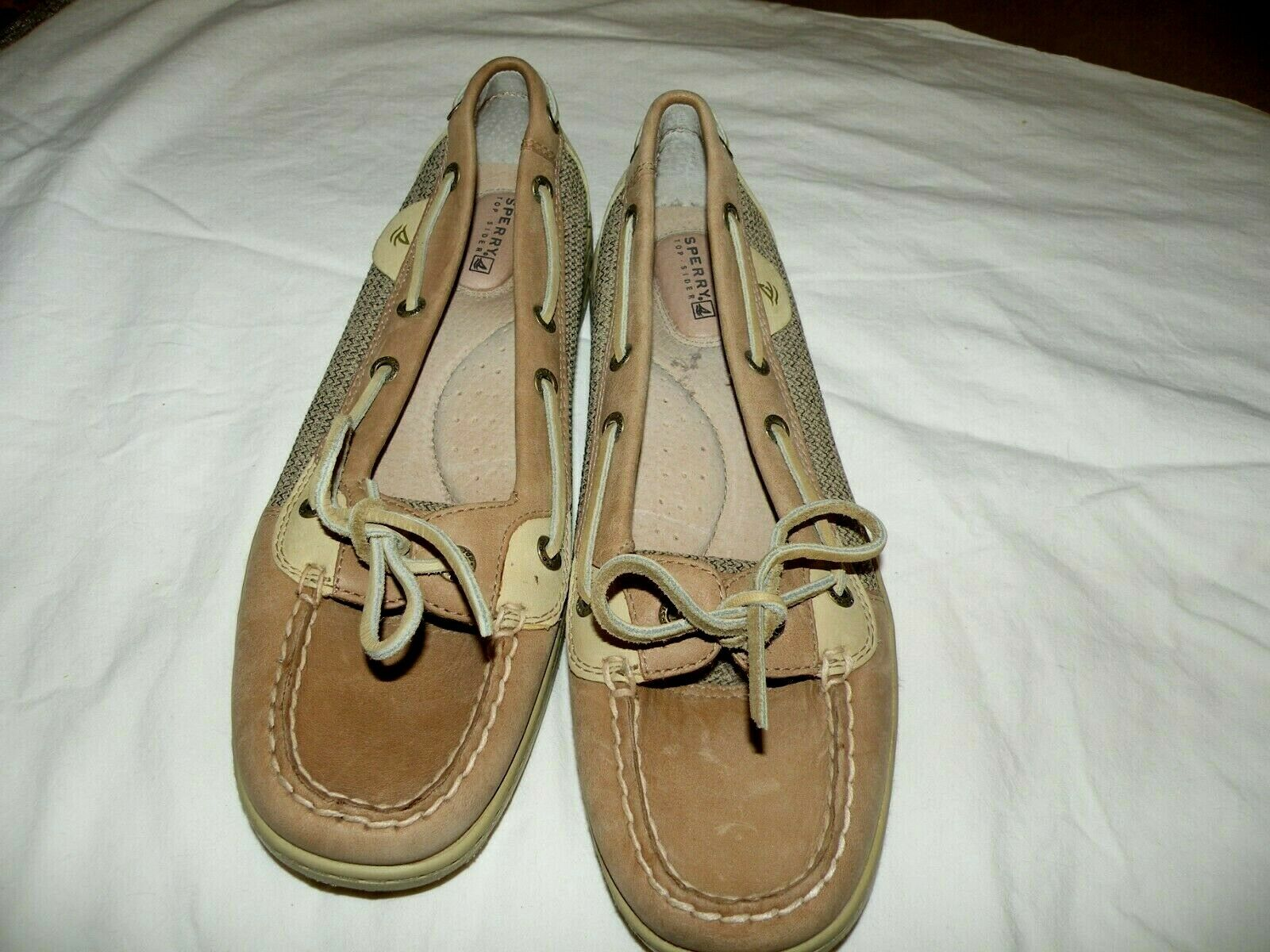 Sperry Top Sider Women's Leather Boat Shoes Size 9M