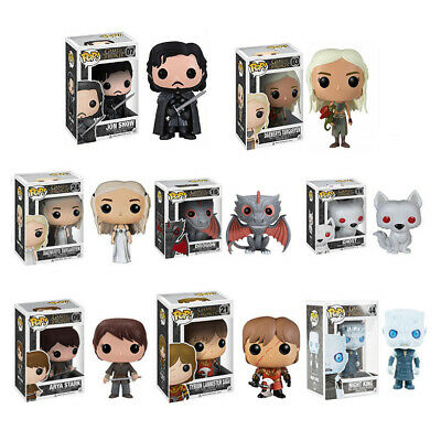 Funko Pop Game Of Thrones 8 Action Figure Vinyl Kids Toys Collectable Boxed Gift | eBay