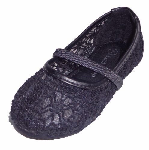 Girls Toddler Kids Infant Shoes Crochet Sneaker Flat Slip On Ballet Ballerina