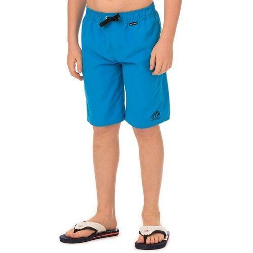 Animal Boys Baggies Elasticated Waist Swim Boardshorts in Kingfisher Blue