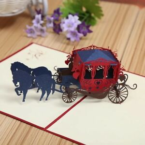 Image Is Loading 3D Pop Up Greeting Card Handmade Birthday Gift
