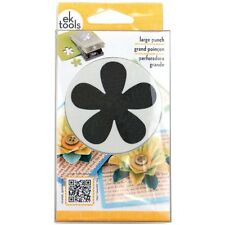 "RETRO FLOWER SLIM 2 1/4"" EK Paper Shapers Punch Large"