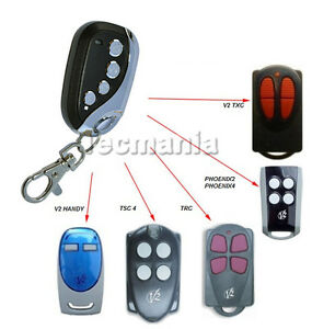 V2 Phoenix Self Learning Replacement Remote Control Fob 433.92 MHz Rolling Code