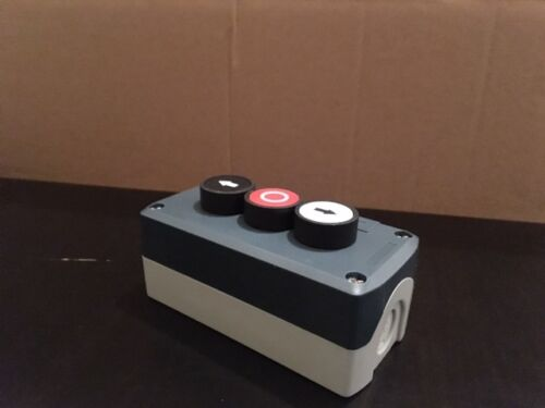 Neco Push Button Isolator Switch with 3 buttons for shutters awnings