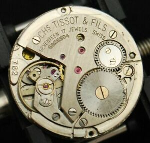 TISSOT 782 watch Movement with date original Spares Parts-Choose From List (2)