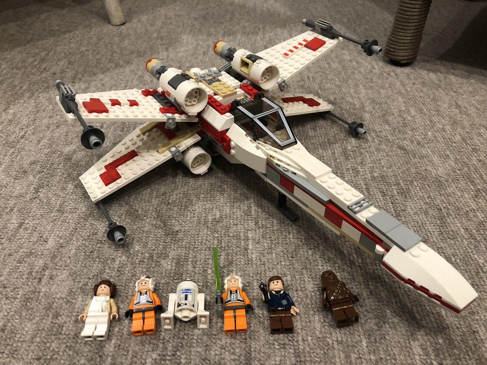Lego Star Wars Wars Wars X-Wing Vintage Collection Set avec Minifigures - 6212 689464