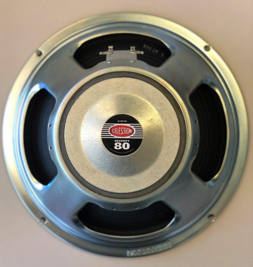 1x12 Guitar Speaker Extension Cabinet W//16 Ohm CELESTION Seventy 80 speaker