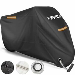 Favoto-Housse-Protection-Moto-Couverture-Polyester-210T-Resistant-Etanche-XXL