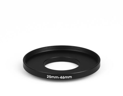 25 mm 46 MM filtro adaptador Step-up adaptador filtro adaptador step up 25-46