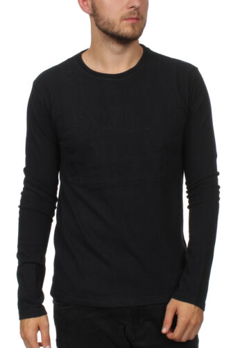 Superdry Embss Tabella Stagno Authetic Longsleeve Vintage Uomo Maglietta Ls 4w4rqIf
