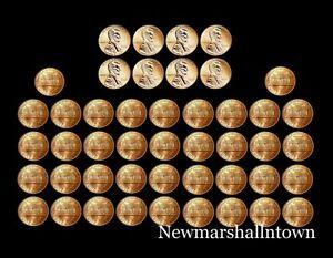 1990-2009-P-D-Lincoln-Mint-Set-Roll-of-46-Coins-Includes-2009-PD-Bicentennials