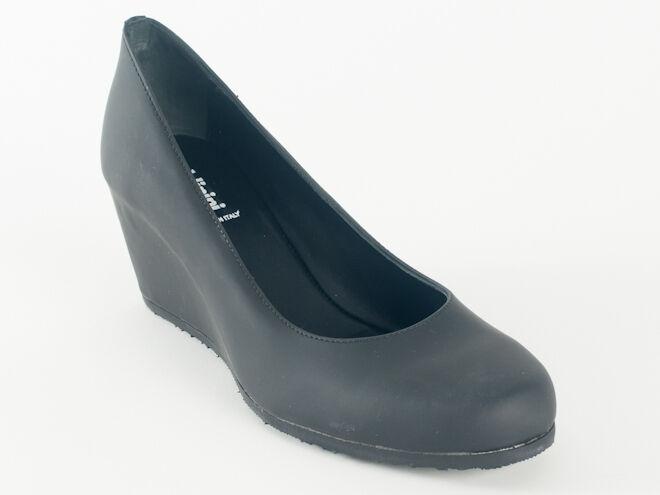 Nuevo Baldinini negro negro negro cuero hecho en Italia Zapatos Talla 39 EE. UU. 9  gran selección y entrega rápida