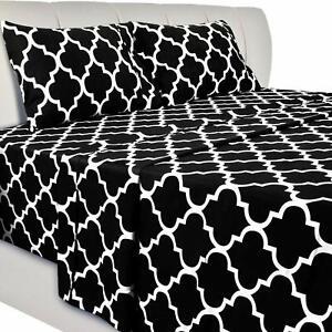 Bed-Sheet-Set-4-Pcs-1-Flat-Sheet-1-Fitted-Sheet-2-Pillow-Cases-Utopia-Bedding