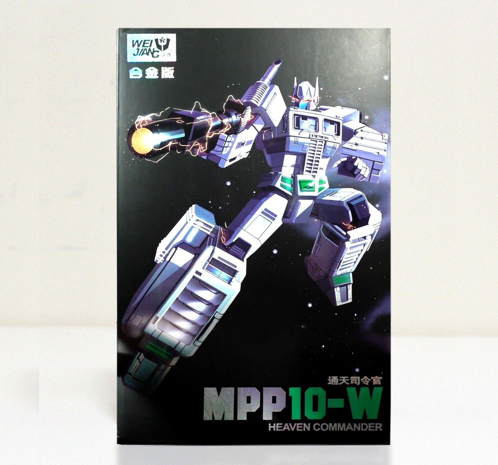 WEI JIANG WEIJIANG MPP10 W MPP-10 W WHITE Commander Transformers OP NEW