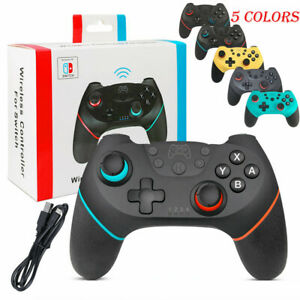 For-Nintendo-Switch-Bluetooth-Wireless-Pro-Controller-Gamepad-Joypad-Joystick