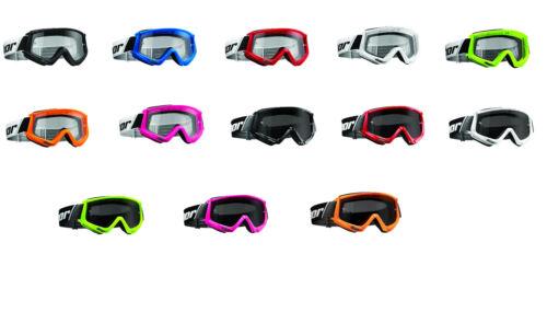 THOR Combat MX Occhiali Motocross BMX Goggle FUORISTRADA CROSS ENDURO QUAD