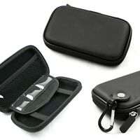 Black Hard Shell Carrying Case For Magellan Roadmate 1412, 1424-lm, 1440, 2036
