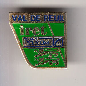 RARE-PINS-PIN-039-S-PTT-LA-POSTE-FRANCE-TELECOM-IRET-VAL-DE-REUIL-27-BU