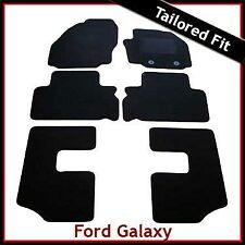 Ford Galaxy Mk2 2006-2015 Fully Tailored Fitted Carpet Car Floor  Mats BLACK