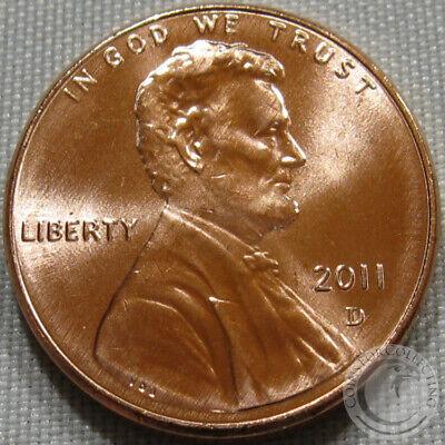 United States 1 Lincoln Shield Cent 2012 D BU USA Penny UNC KM# 468