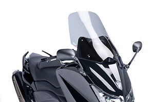 YAMAHA-T-MAX-530-TMAX-2012-gt-2014-CUPOLINO-PUIG-FUME-039-CHIARO-TOURING-PARABREZZA