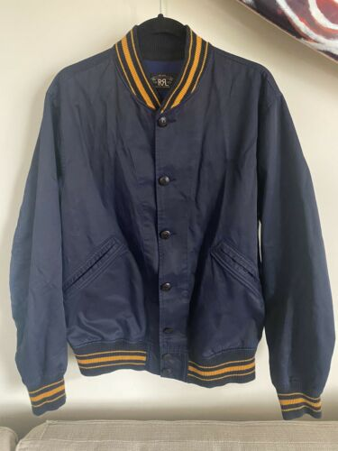 RRL Ralph Lauren Varsity Jacket L