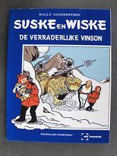 Suske en Wiske de verraderlijke vinson met blauwe omslagcover 1997