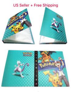 T-Pokemon-Card-Binder-Portfolio-Pocket-Album-Card-Portfolio-Holder-240-Cards