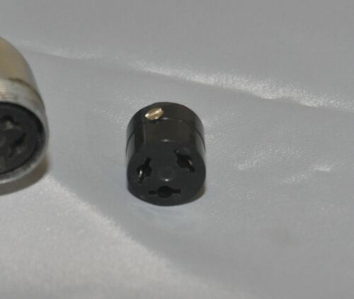 NEW Shure 55 Series 3-Pin Microphone Replacement Connector with Set Screw BOGO!