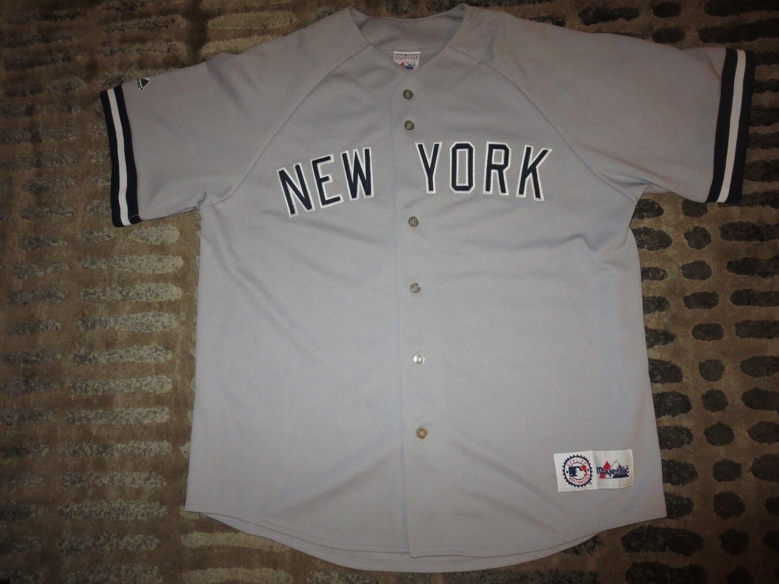 Jason Giambi  25 New York Yankees Yankees York MLB Spiel Majestic Genäht Trikot XL 6eee52