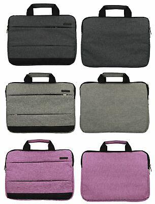 """Notebook Laptop Tasche 13,3"""" 14,1"""" Zoll Schutztasche Case Dunkel Hell Grau Lila Zu Hohes Ansehen Zu Hause Und Im Ausland GenießEn Koffer, Taschen & Accessoires"""