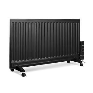 Radiatore riempita di olio riscaldatore elettrico 1000 w for Termosifone elettrico a parete