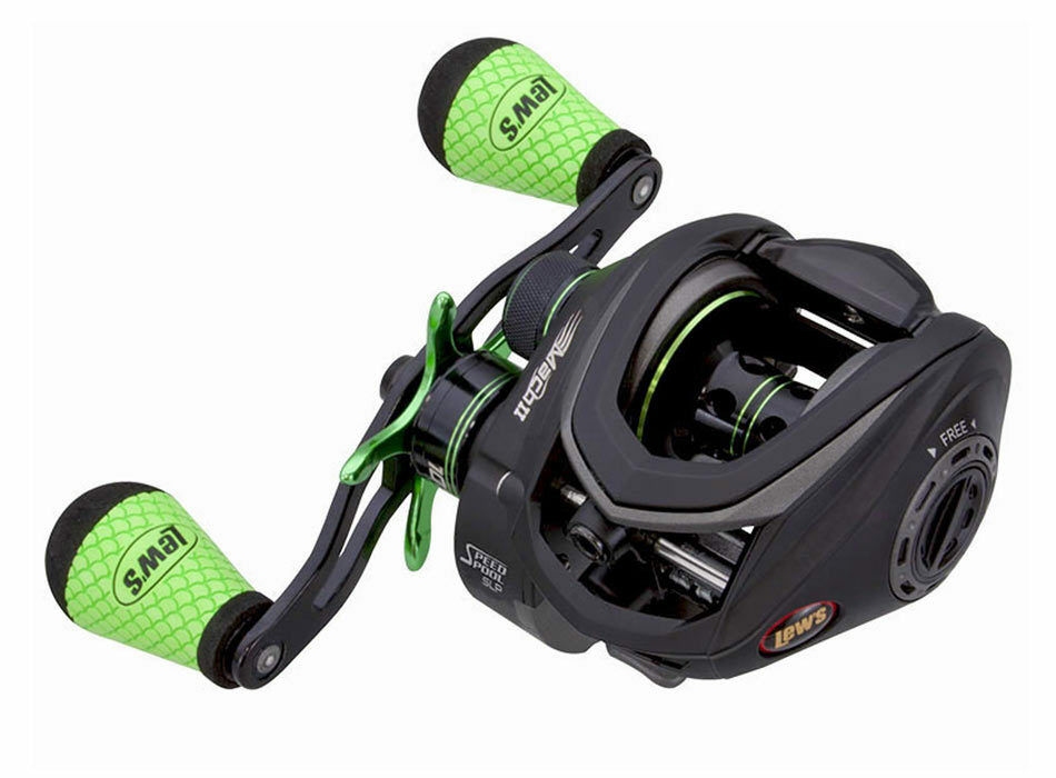 LEW'S MACH II (SLP) SUPERLOW PROFILE RIGHTHAND BAITCAST REEL MH2SH RIGHTHAND PROFILE RECONDITIONED f9f8c4