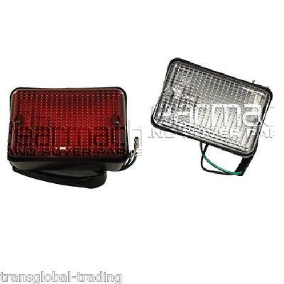 Land Rover Defender 90 110 Reverse & Fog Light Set - Bearmach - PRC7254 PRC7263