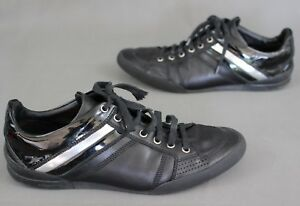 795e8fc6b4 Free postage. Image is loading DIOR-HOMME -Black-Calfskin-B18-SIGNATURE-Lace-Up-