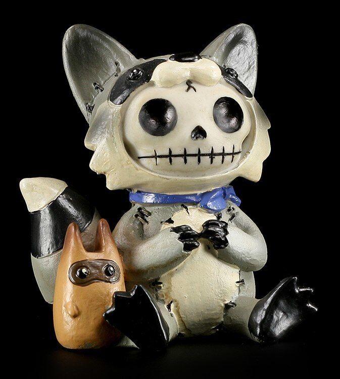 FURRY Huesos Figura - Raccoon Raccoon Raccoon - Divertido Gracioso Estatua furrybones Lavable eef15a