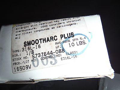 "HOBART 316 Stainless Steel Welding Rod SMOOTHARC PLUS 316L-16 3//16/"" NIB"