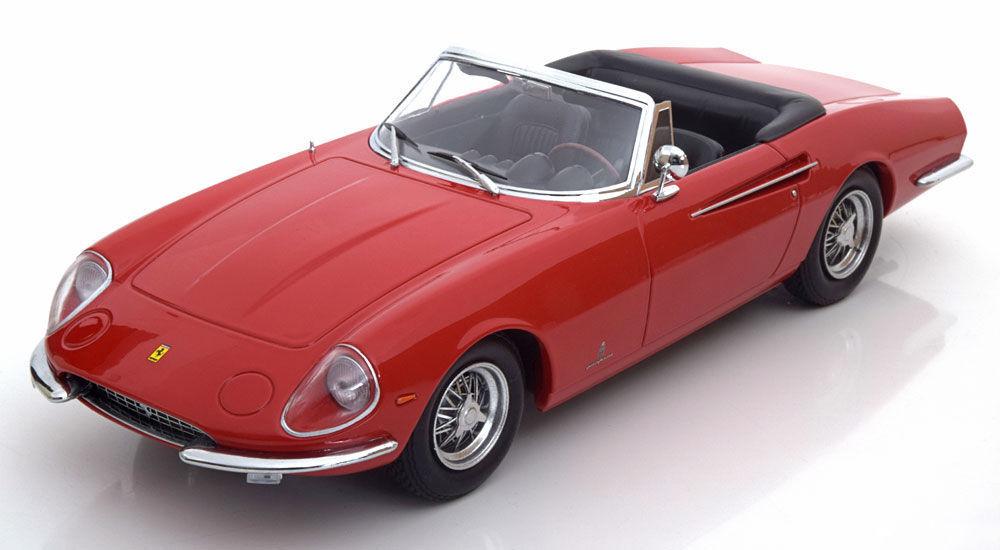 Kk modellen 1966 ferrari 365 california spyder rote le von 2500pcs 18  neue