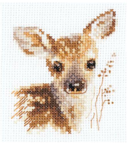 Fawn Alisa Cross Stitch Kit
