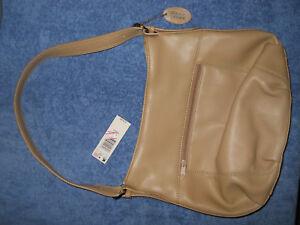 Details About New W Tag Nwt Kmart Genuine Leather Purse Handbag Shoulder Bag Real