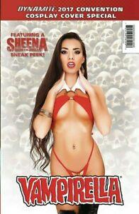 Dynamite 2017 Convention Cosplay Special Vampirella Red Sonja Sheena Bambi NM