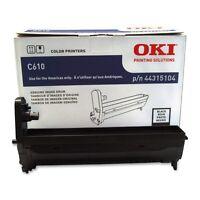 Genuine Oki 44315104 Imaging Drum Unit 20000 Page For Oki C610 Series