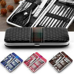 18Pcs-Stainless-Steel-Nail-Cuticle-Pusher-Remover-Manicure-Pedicure-Tool-Set-US