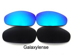 Galaxy-Replacement-Lenses-For-Oakley-Juliet-Sunglasses-Black-amp-Blue-Polarized-2PS