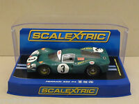 Rare C3098 Scalextric Ferrari 330 P4 W/lights No.3 Piper & Attwood 1:32 Slot Car