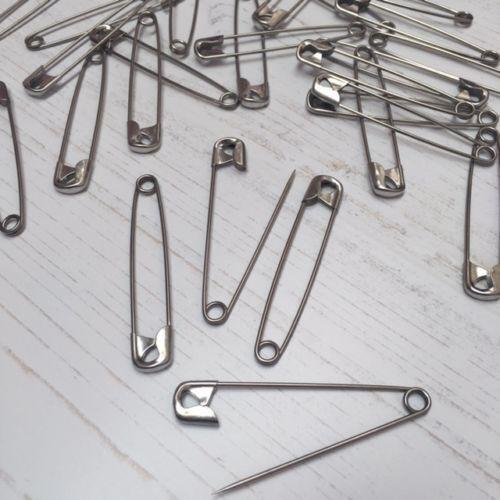 Libre P/&P 60 Imperdibles Acero Grande de calidad superior de 57MM aproximadamente 2.244 pulgadas de largo