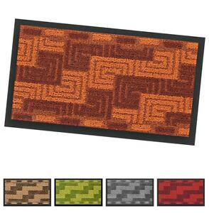 Zerbino-tappeto-asciugapassi-porta-entrata-40x70-antiscivolo-tessitura-3D-greca
