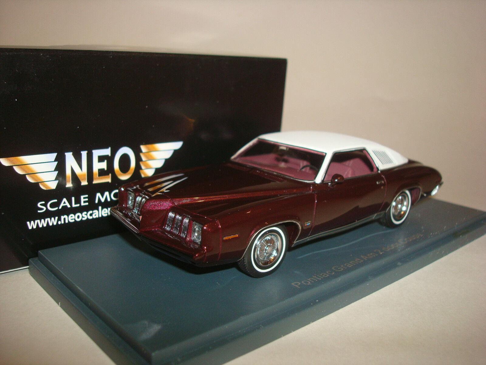 precio razonable Pontiac Grand Am Coupe-Rojo Coupe-Rojo Coupe-Rojo gris se reunió 44755 Neo 1 43  venta mundialmente famosa en línea